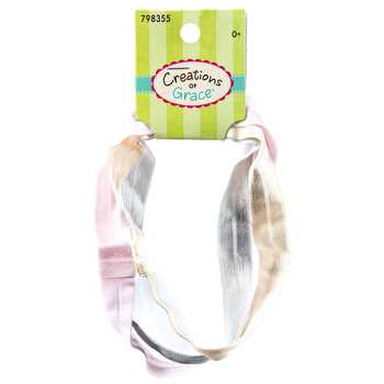 "5/8"" Woven Elastic Infant Headbands"